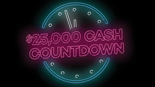 $1,000 Cash to be Won at each draw!