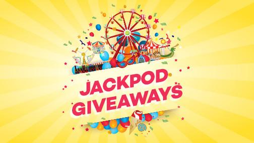 Show Day Jackpod Giveaways