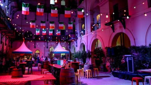 Italian Festival in Treasury's Courtyard