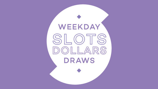 Chance to Share in $22,540 Slots Dollars!