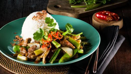 Fat Noodle - Mongolian Lamb