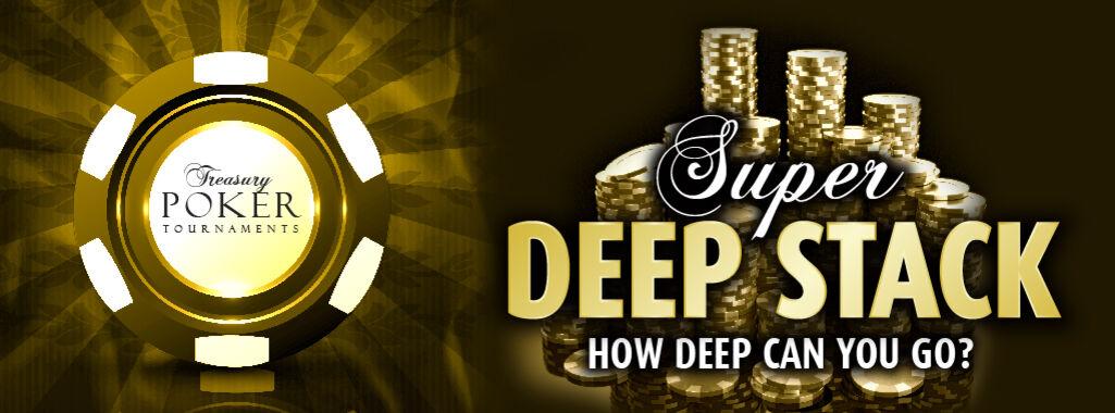 Super Deep Stack Texas Hold 'Em Poker