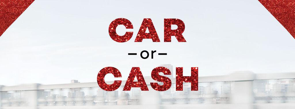$20,000 Cash or a VW Golf Hatch - You Decide!