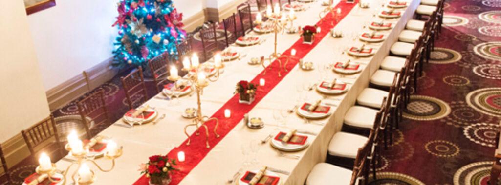 Christmas Setting at Treasury